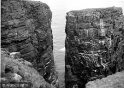 Handa, Cliffs 1960