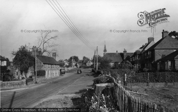 Photo of Handcross, Horsham Road c.1955