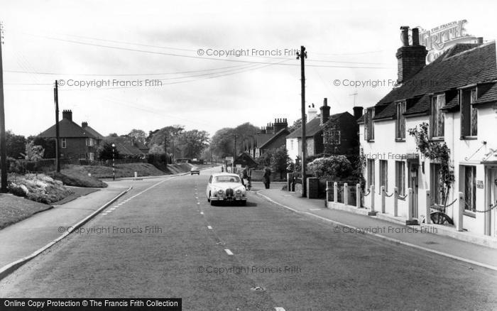 Photo of Handcross, Horsham Road c.1960
