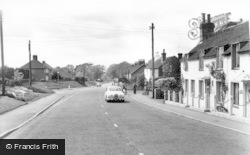 Handcross, Horsham Road c.1960