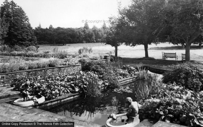 Photo of Handcross, Lily Pool, Handcross Park c.1960