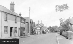 Handcross, Main Road c.1955