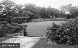 Park Garden Looking East c.1960, Handcross