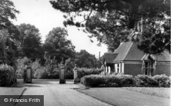 Handcross, Park Lodge c.1955
