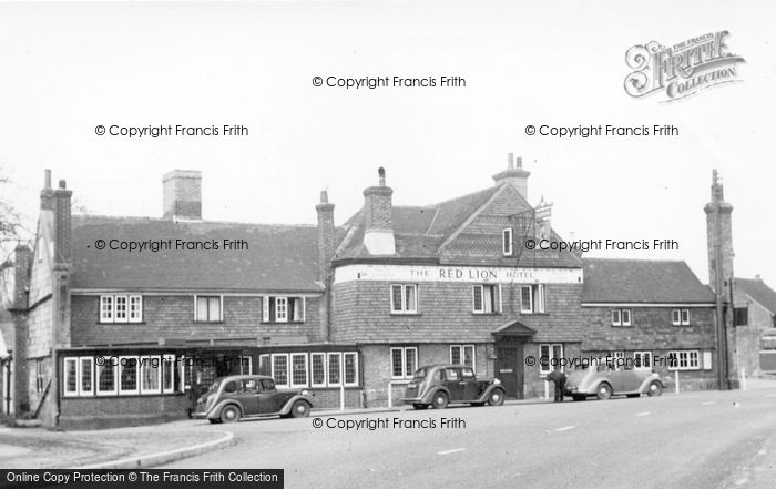 Photo of Handcross, Red Lion Hotel c.1955