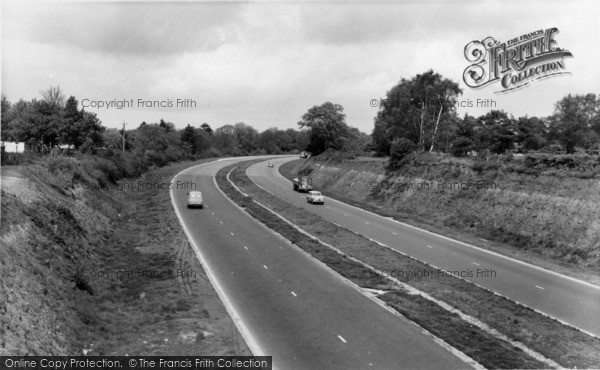 Photo of Handcross, The Main Road c.1965