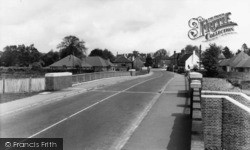 Handcross, View From The Bridge c.1965