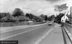 Handcross, Village From The Bridge c.1965