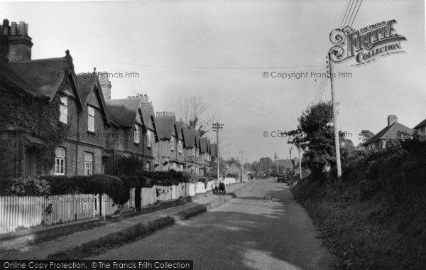 Photo of Handcross, Warren Cottages c.1955