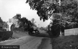Handcross, Warren Cottages c.1955