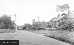 Handcross, Worthing Road c.1955