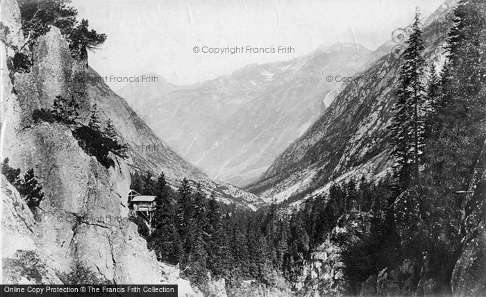 Photo of Handeck, From Falls Of The Aar c.1875