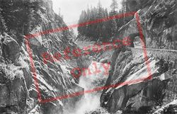Grimsel Route And Falls c.1935, Handeck