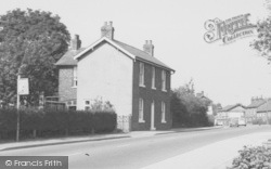 Handforth, House In Wilmslow Road c.1965