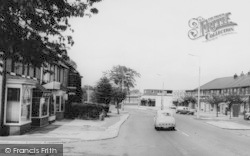 Handforth, Main Road c.1965