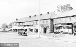 Handforth, New Parade c.1955