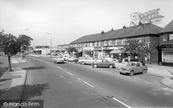 Handforth, Post Office Parade c.1965