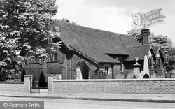 Handforth, St Chad's Church c.1955