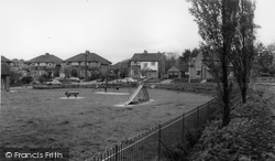 Handforth, The Playground c.1965