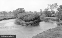 Handsacre, The River Trent c.1955