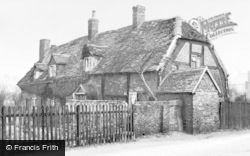 The Old Cruck House, Slack Lane 1936, Handsworth