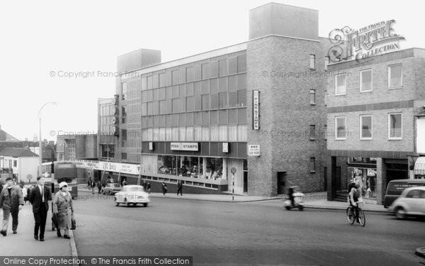 Hanley, Broad Street c1965