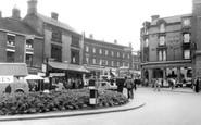 Hanley, Fountain Square c1965