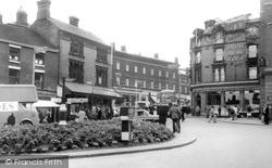 Fountain Square c.1965, Hanley