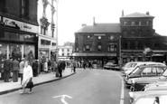Hanley, Market Square c1965