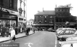 Market Square c.1965, Hanley
