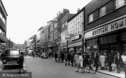 Parliament Row c.1965, Hanley