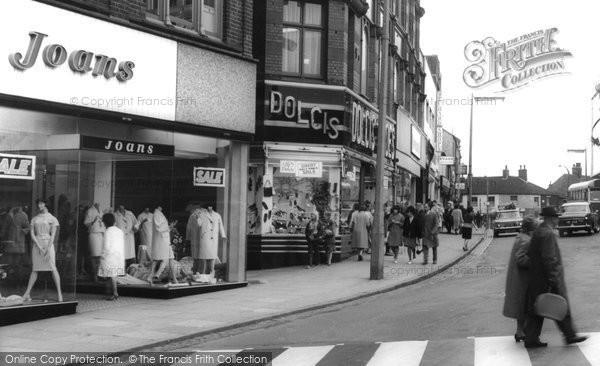 Photo of Hanley, Stafford Street c.1965