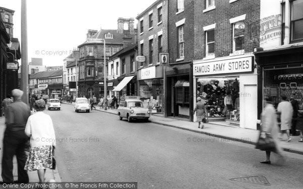Hanley, Tontine Street c1965