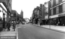 Upper Market Street c.1965, Hanley