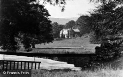 Hanlith, The Hall And Park c.1935