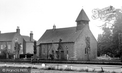 St Thomas's Church c.1960, Hanwood