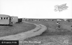 Happisburgh, Caravan Site c.1960