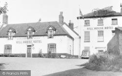 Happisburgh, Hill House Hotel c.1955