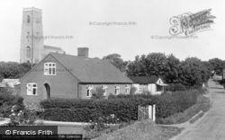 Happisburgh, North Walsham Road And The Church c.1955