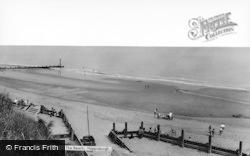 Happisburgh, The Beach c.1965