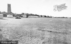 Happisburgh, The Caravan Site c.1955