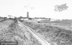 Happisburgh, The Caravan Site c.1960