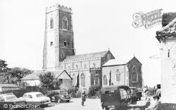Happisburgh, The Church And Hill House Inn c.1960