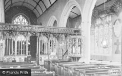Harberton, Church Interior c.1890