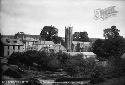 Harberton, St Andrew's Church And Village 1890
