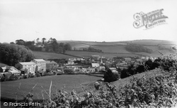 Harbertonford, General View c.1965