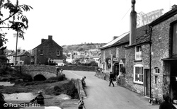 Harbertonford, Old Road And Bridge c.1965