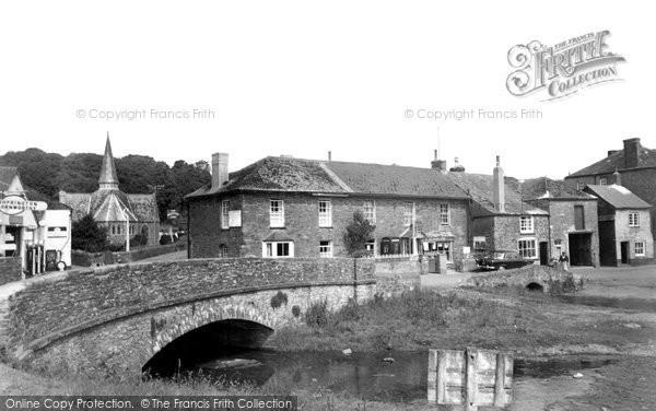 Photo of Harbertonford, The Bridge c.1960