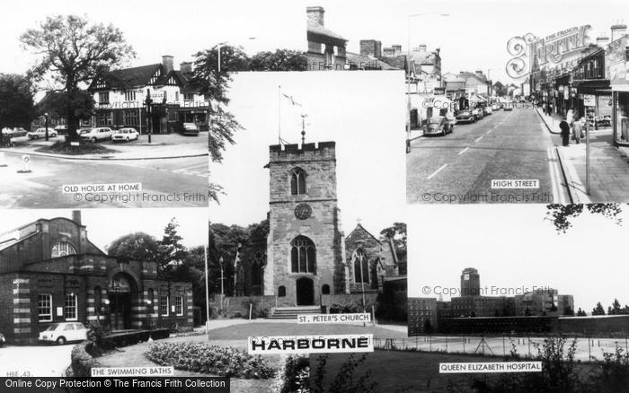 Photo of Harborne, Composite c.1965