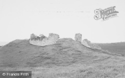 Harbottle, The Castle Ruins c.1960